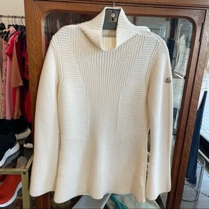Moncler Mock Cable Knit Sweater